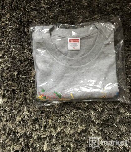 Wts Supreme paint tee SS20-Grey