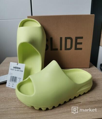adidas Yeezy Slide Glow Green (Kids) EU: 32 / US: 13K