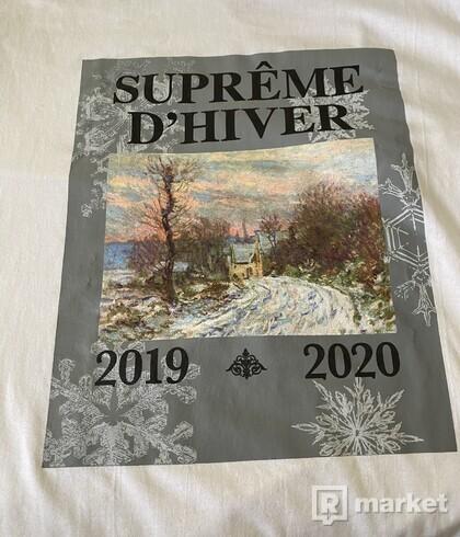 Supreme D'Hiver Tee White