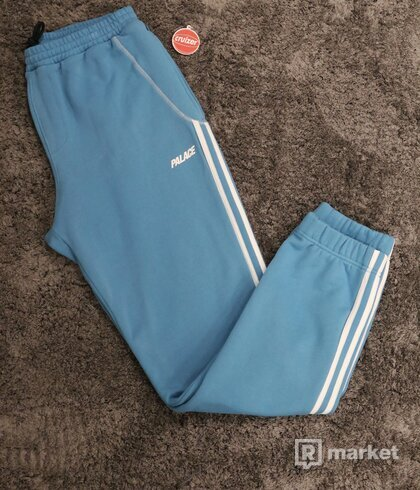 Adidas x Palace Track Pants Blue