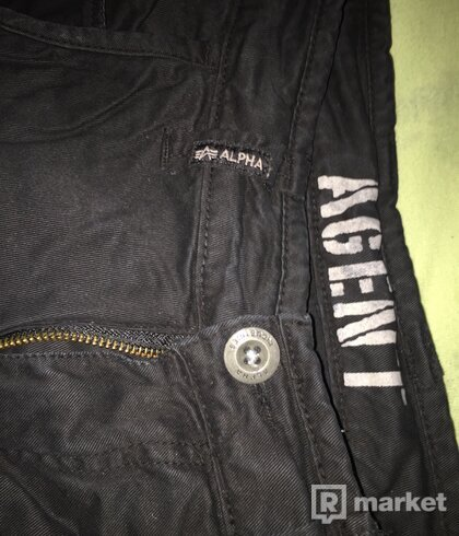 Alpha Industries Agent Cargo Pants