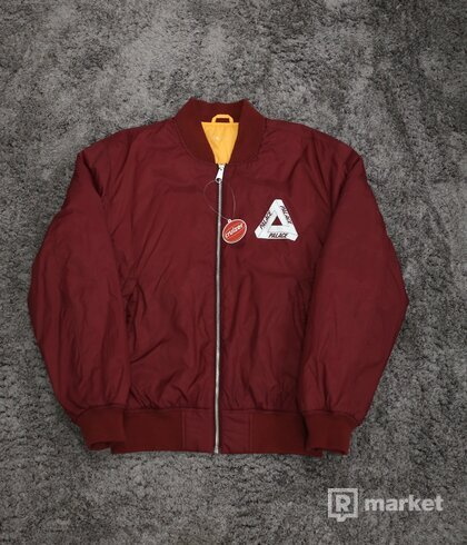 Palace Thinsulate Bomber Jacket Cordovan