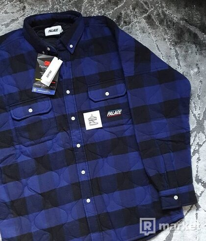 Palace Quilt Mit Plaid Shirt