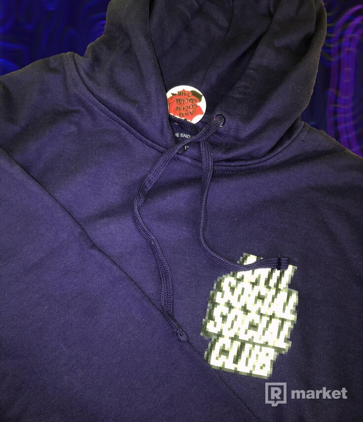 ASSC Tokyo Hoodie Purple