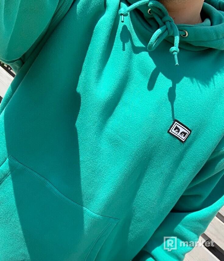 Obey All Eyez HD blue/green