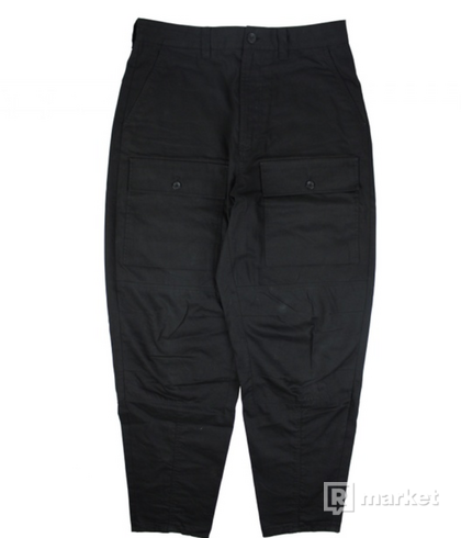 Acne studios cargo pants black
