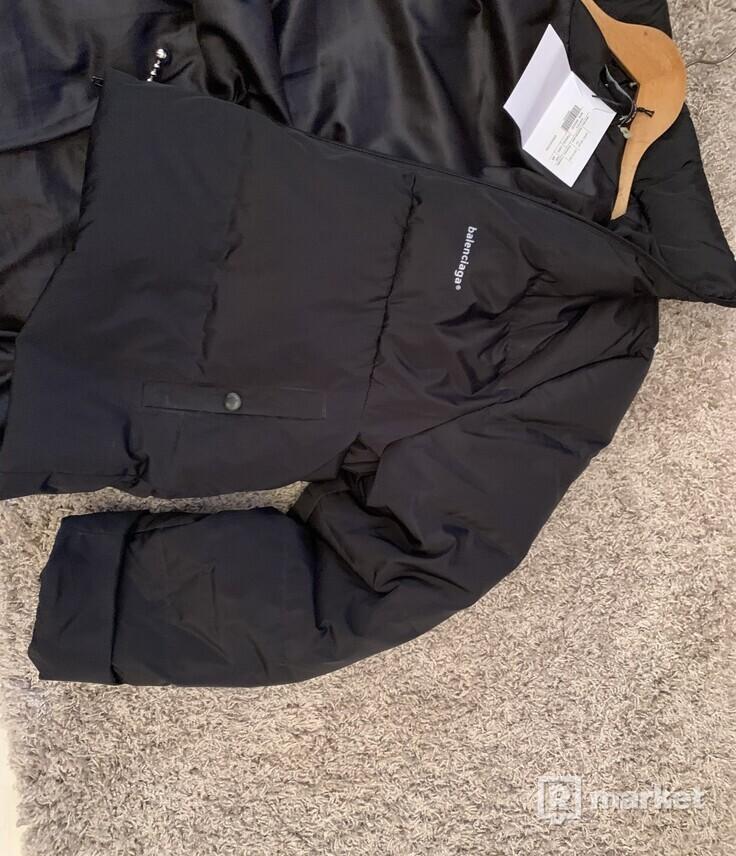 Balenciaga shape puffer jacket