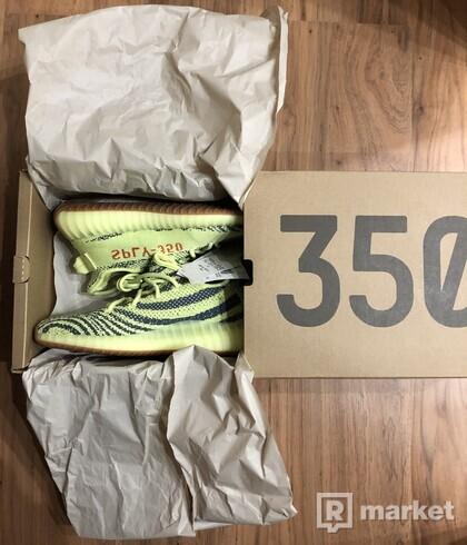 adidas yeezy 350 semi frozen yellow