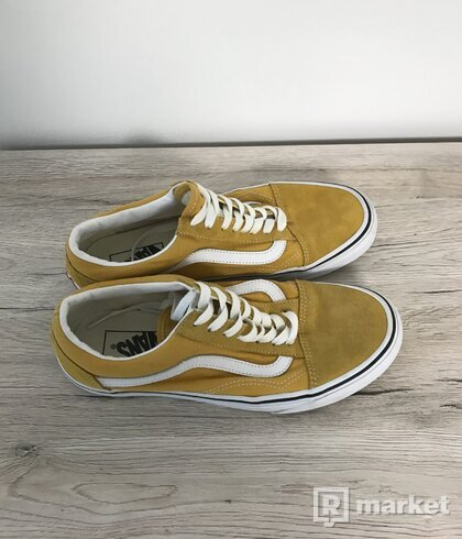 Vans old skool-žluté
