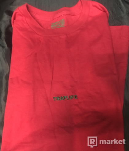 TRAPLIFE CHRISTMAS TEE RED