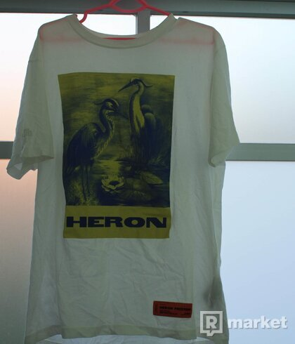 Heron Preston painting tee