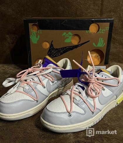 """Nike Dunk Low X Off white Lot """"24of50"""""""