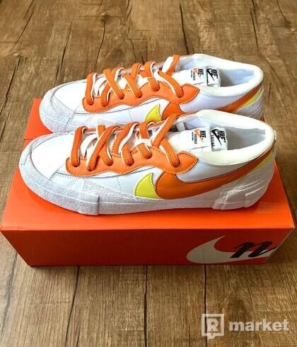 Nike Blazer Low sacai Magm Orange