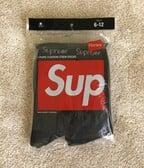 Supreme x Hanes Socks