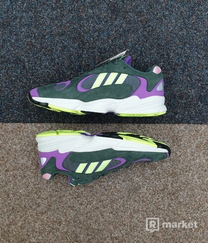 Adidas Yung-1 legend ivy res yellow