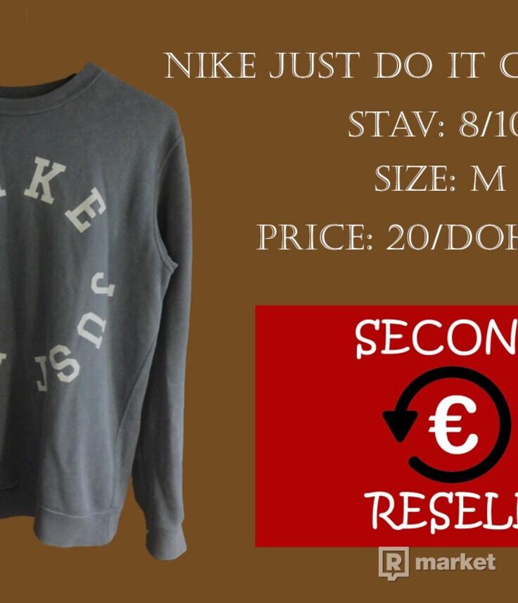 Nike Just do it crewneck