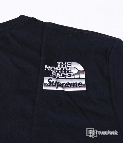 Supreme/Tnf tee black