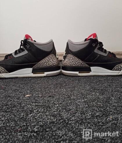 Nike air Jordan 3 retro black cement