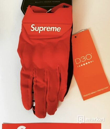 Supreme Gloves | Red