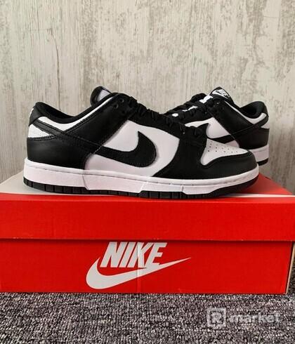 Nike Dunk Low Retro White Black - W (8,5)