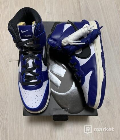 Nike Dunk High AMBUSH Deep Royal