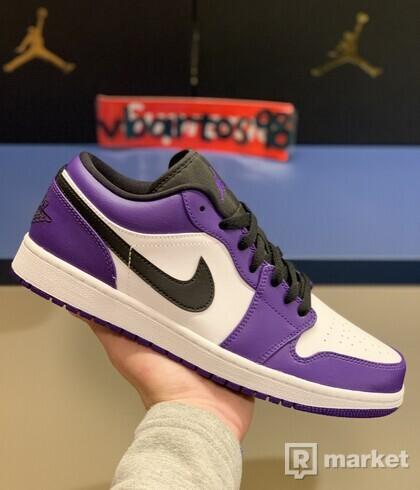 Jordan I Low Court Purple
