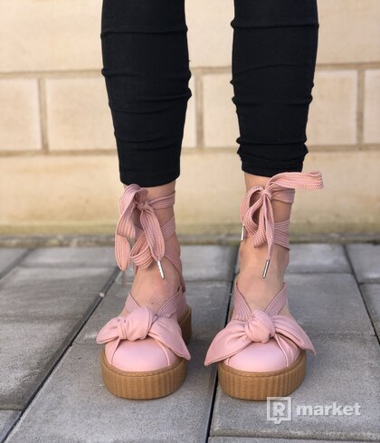 PUMA Fenty by Rihanna Bow Creeper Sandals