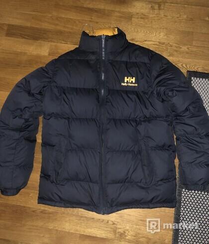 Helly Hansen reversible puffer jacket black-ebony/yellow