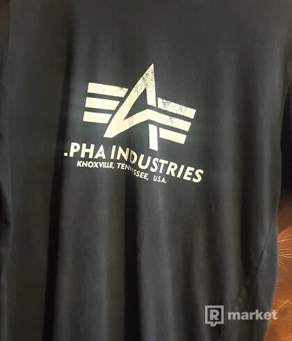Alpha Industries - pánske tričko
