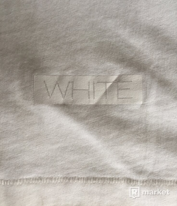 Off-White White on White Tee