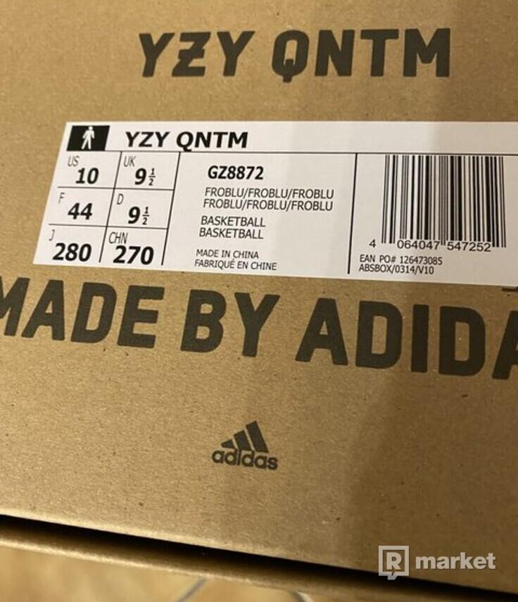 adidas Yeezy QNTM Frozen Blue 44