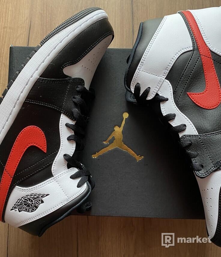 Air Jordan Red Chile
