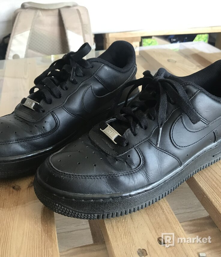 Nike Air Force 1 low čierne