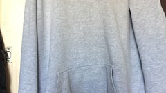 F*ck them winter hoodie grey