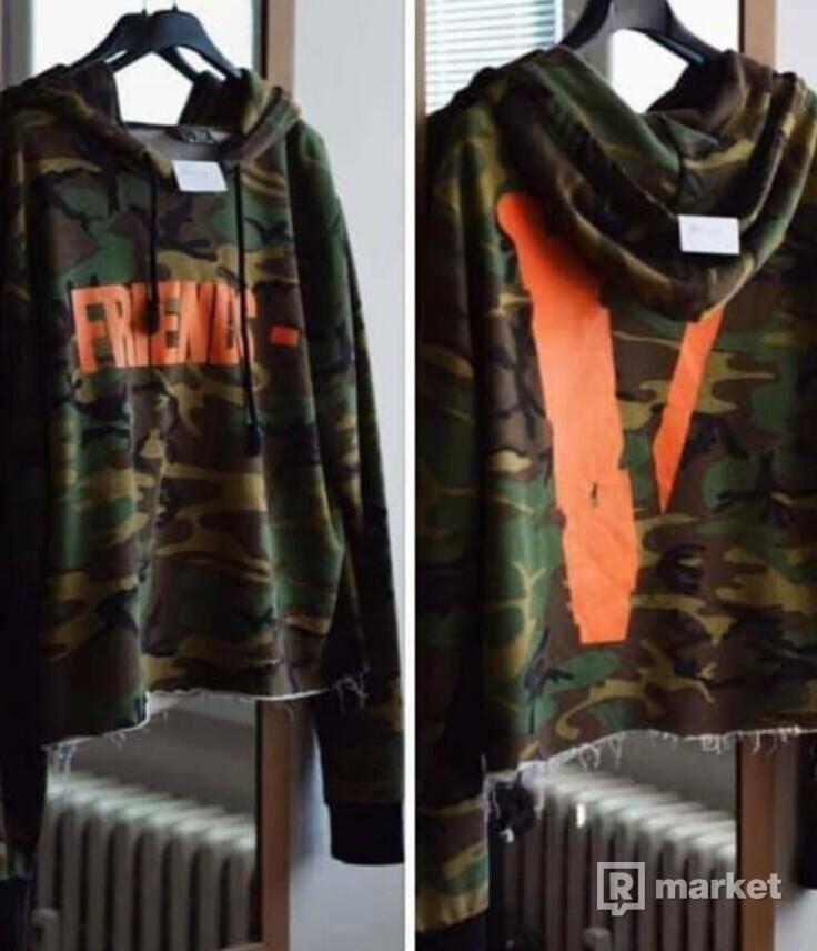 Vlone friends- camo hoodie