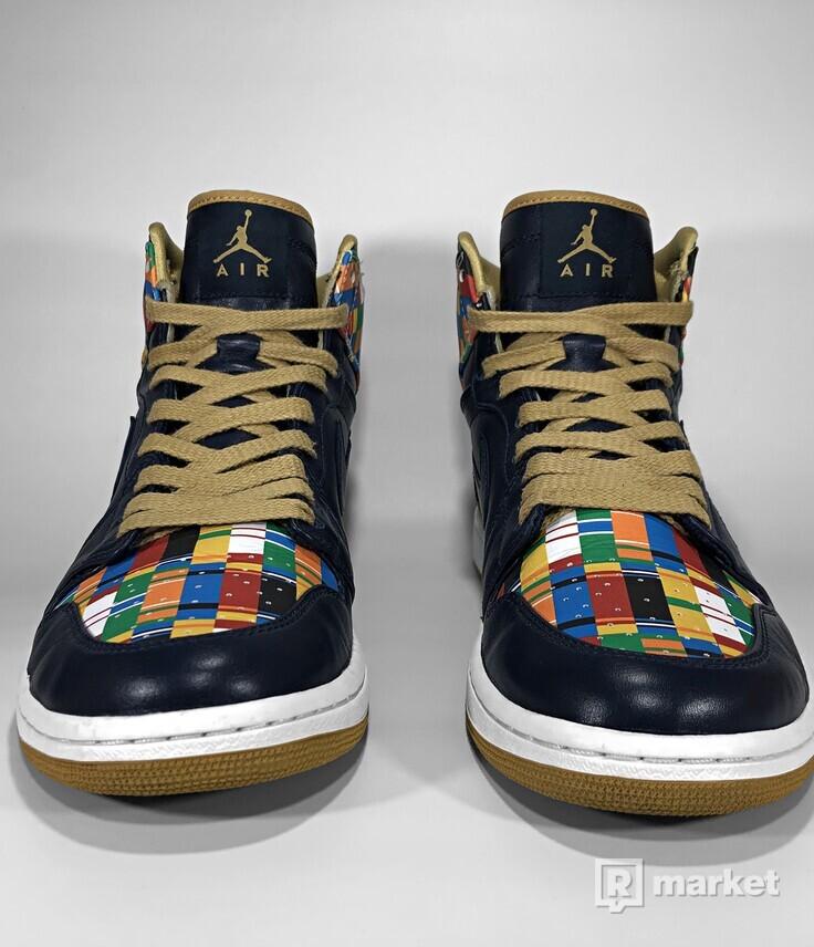 "Air Jordan Retro 1 High RTTG ""D.C."""