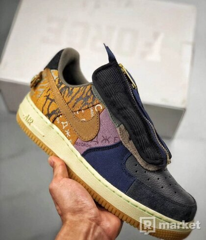 Nike x travis air force 1 low us7
