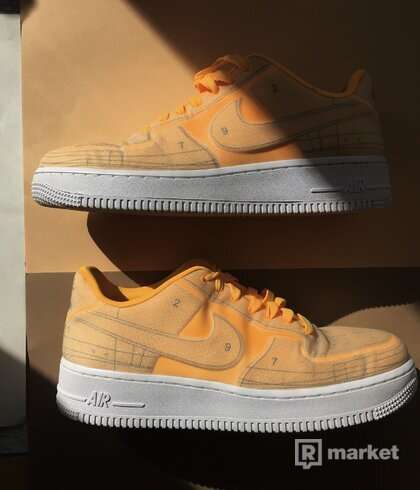 WMNS AIR FORCE 1 '07 LX - LASER ORANGE