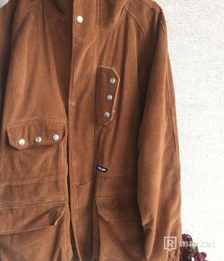 Palace Handy Cord Jacket Brown XL