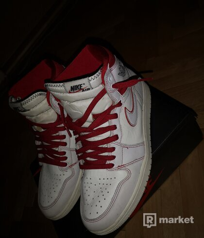 Nike air jordan 1 phantom gym red