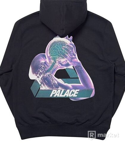 Palace Tri-Gaine Hood Black