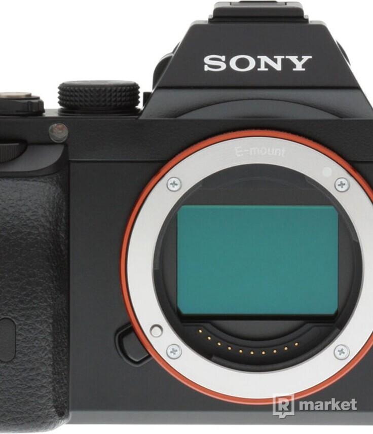 Sony A7 + 2x objektív