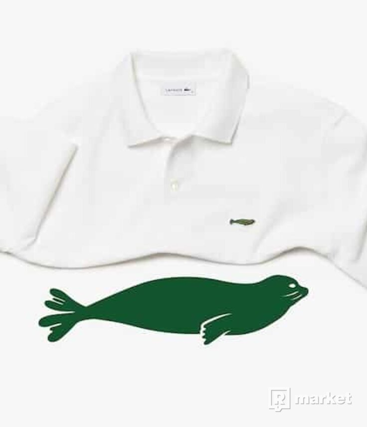 Lacoste x Save Our Species Iconic Polo Shirt Hawaiian Monk M