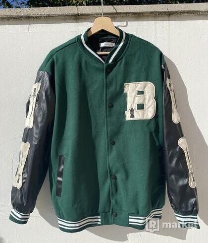 Bones Varsity jacket baseballová bunda kosti