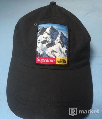 Supreme X The North Face Mountain 6 Panel Black
