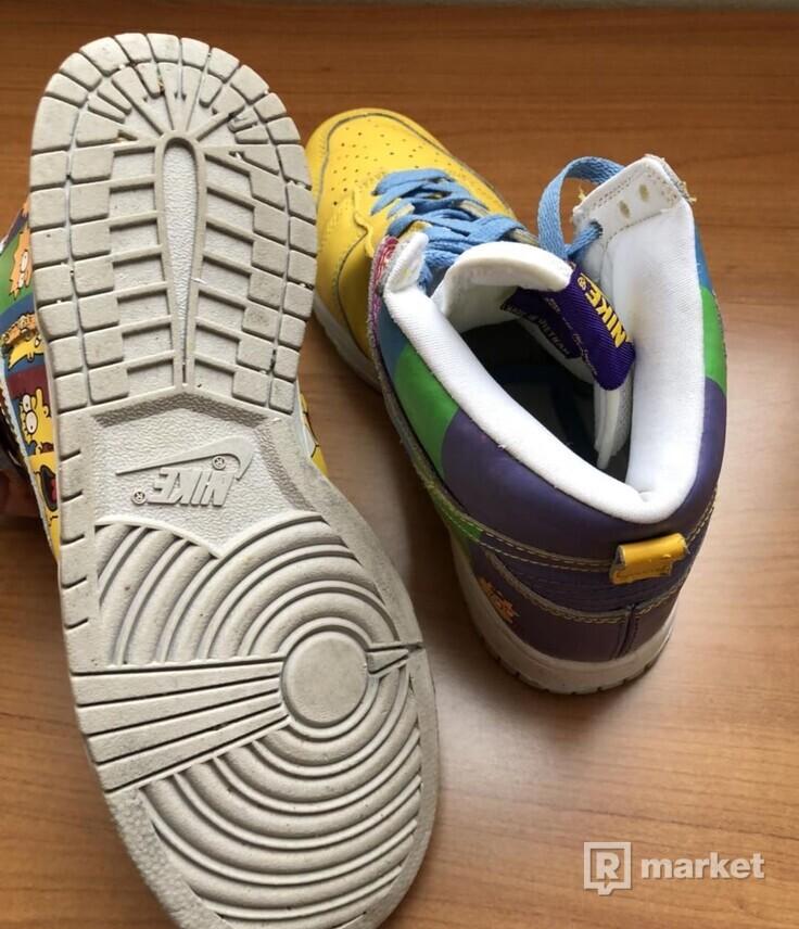 Nike simpsons