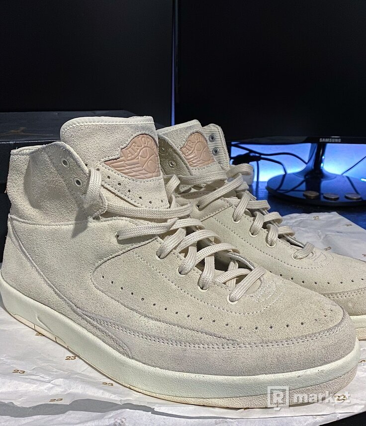 "Air Jordan 2 Retro Decon ""Sail"""