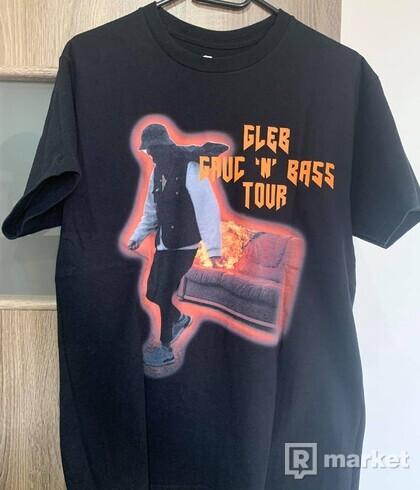 GLEB GAUČ n BASS Tour Tričko