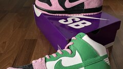 "Nike SB Dunk High - ""Invert Celtics"""