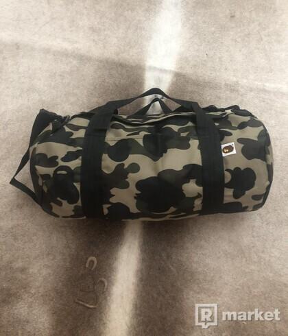 BAPE duffle bag